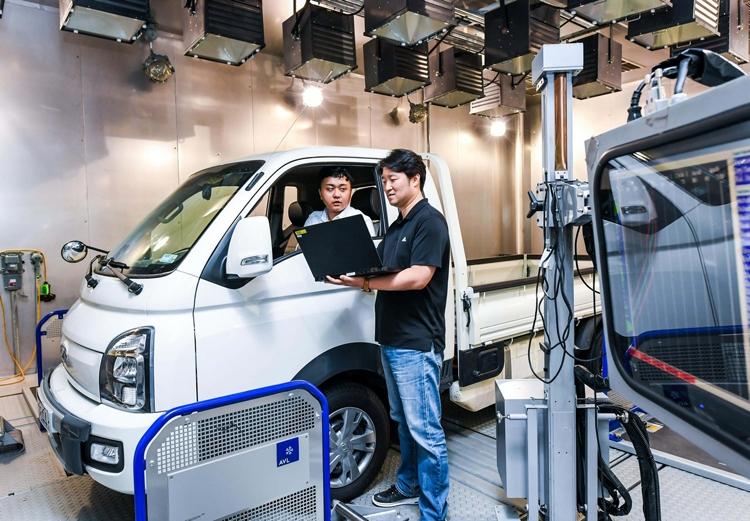 """В Hyundai создана система управления ходовыми характеристиками электрокаров на базе оценки массы"""""""