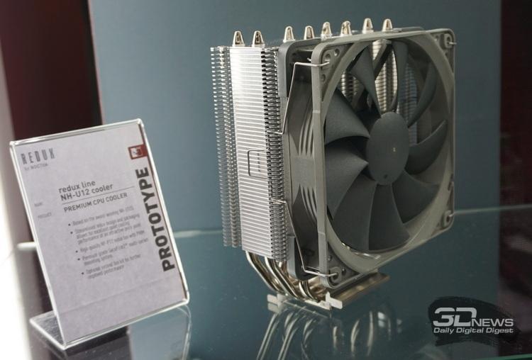 """Computex 2019: Noctua показала полуторакилограммовый пассивный кулер и не только"""""""
