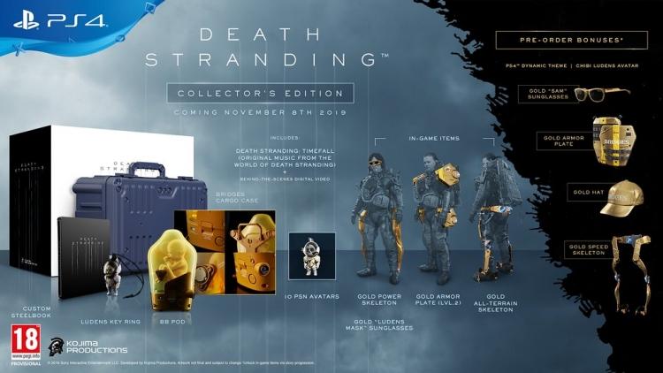 """Геймплейный трейлер, дата релиза и подробности различных изданий Death Stranding"""""""