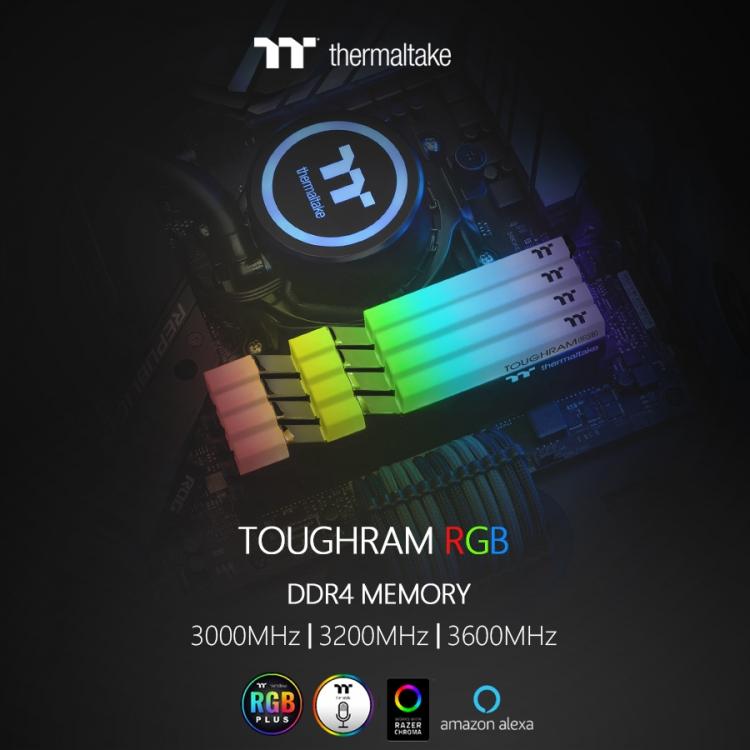 "Computex 2019: Thermaltake представила оперативную память TOUGHRAM RGB и TOUGHRAM"""