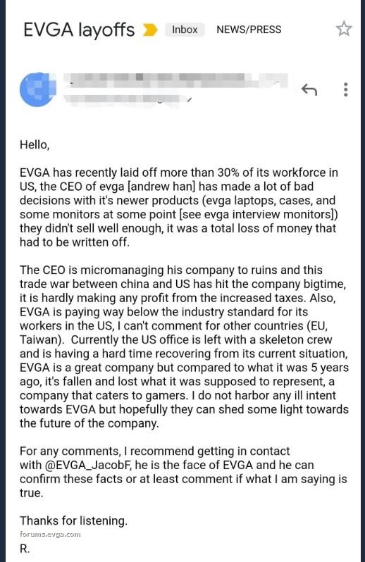 Источник изображения: EVGA Forums, Twitter