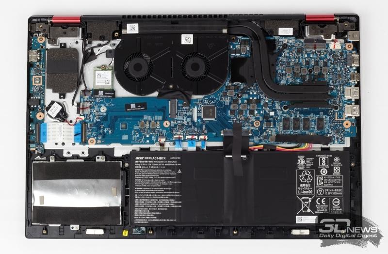 Пример ноутбука, в котором заменить оперативную память нельзя