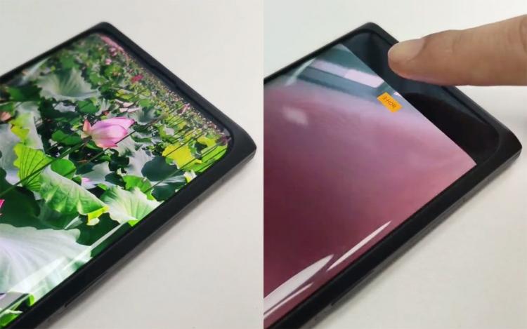 """Видео: Oppo показала прототип смартфона с селфи-камерой, спрятанной под экраном"""""""