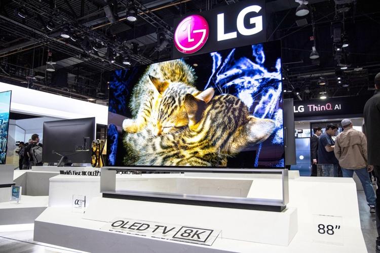 "LG начала продажи первого в мире телевизора 8K OLED"""
