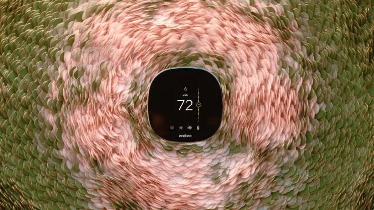 """Ecobee анонсировала новый умный термостат New SmartThermostat с голосовым управлением"""""""