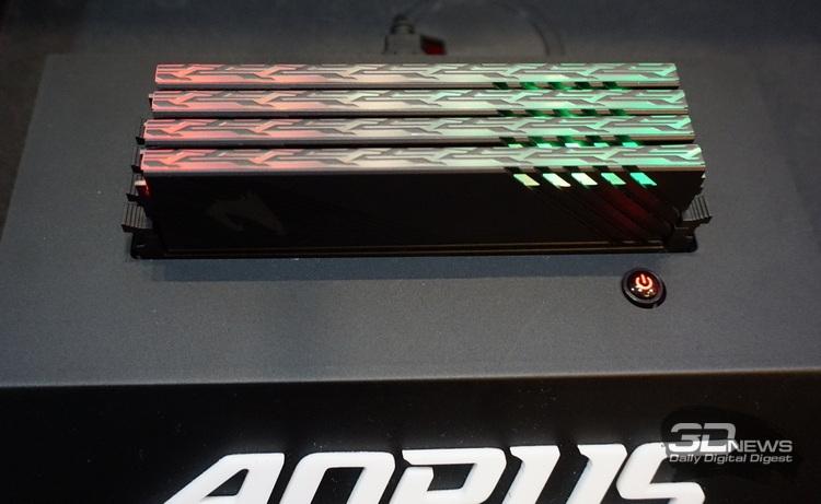 "Computex 2019: материнские платы на X570, SSD с PCIe 4.0 и другие новинки со стенда Gigabyte"""