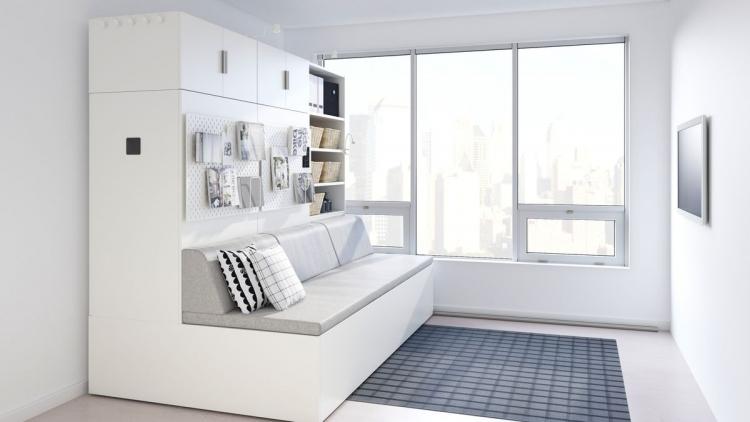 """IKEA создала роботизированную мебель для небольших квартир"""""""