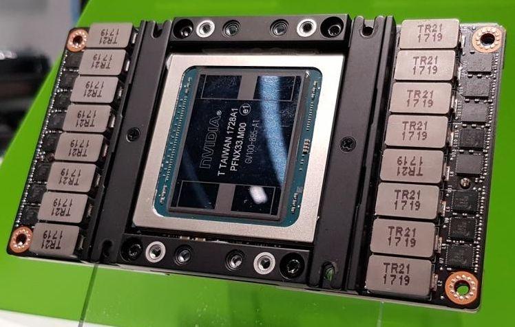 """Графические процессоры NVIDIA Ampere по 7-нм технологии будет выпускать Samsung"""""""