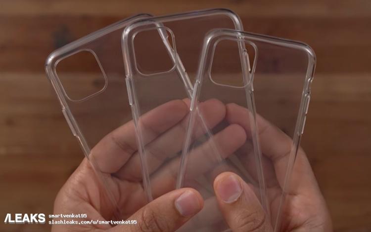 """«Живые» фотографии чехлов подтверждают наличие новых камер в iPhone 2019"""""""