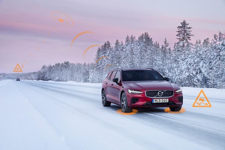 """Volvo поделится данными от своих автомобилей для повышения безопасности движения"""""""
