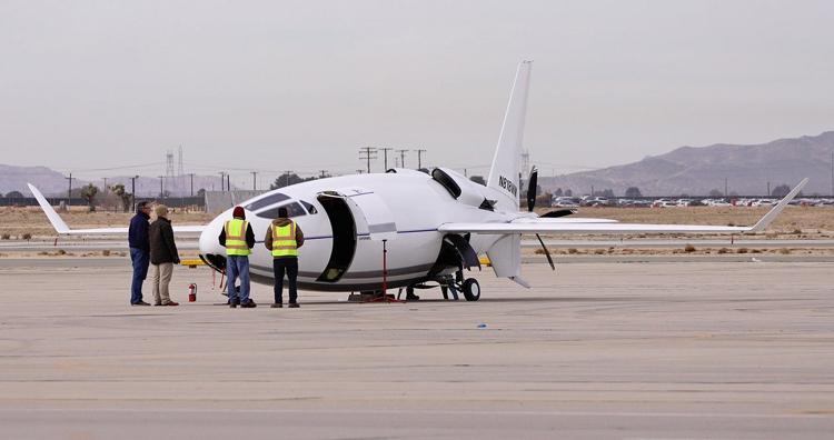"""Таинственный самолёт-пуля Celera 500L готовится к первому полёту"""""""