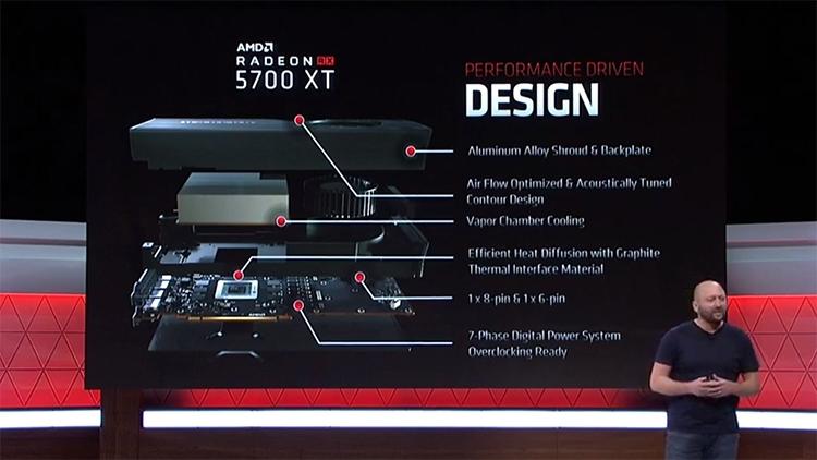 """AMD представила видеокарты поколения Navi: встречаем Radeon RX 5700 XT и Radeon RX 5700"""""""