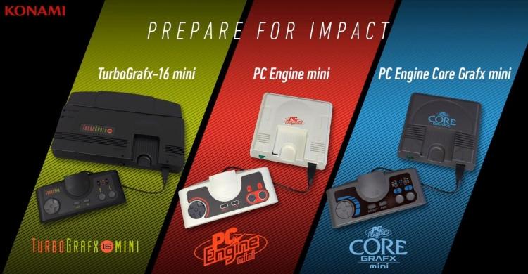 "В полку́ ретро-консолей прибыло: Konami представила Turbografx-16 Mini"""