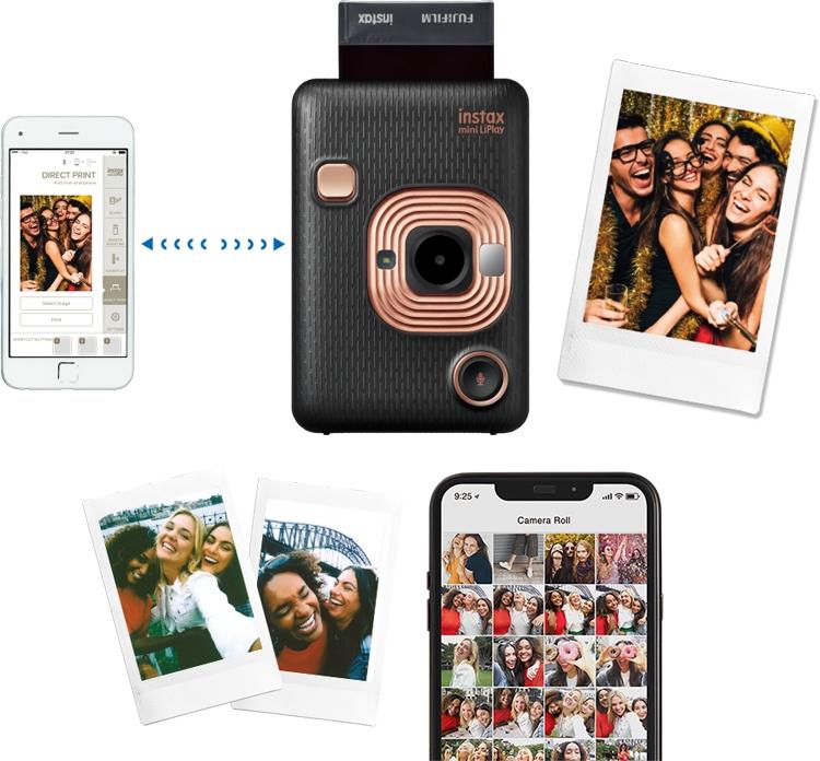 "Fujifilm Instax Mini LiPlay: камера мгновенной печати с функцией записи звука"""