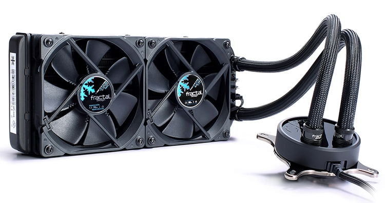 """Fractal Design Celsius Blackout: системы жидкостного охлаждения для чипов AMD и Intel"""""""