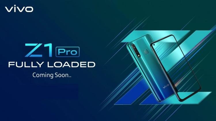 """Vivo выпустит смартфон Z1 Pro с «дырявым» экраном и мощным аккумулятором"""""""