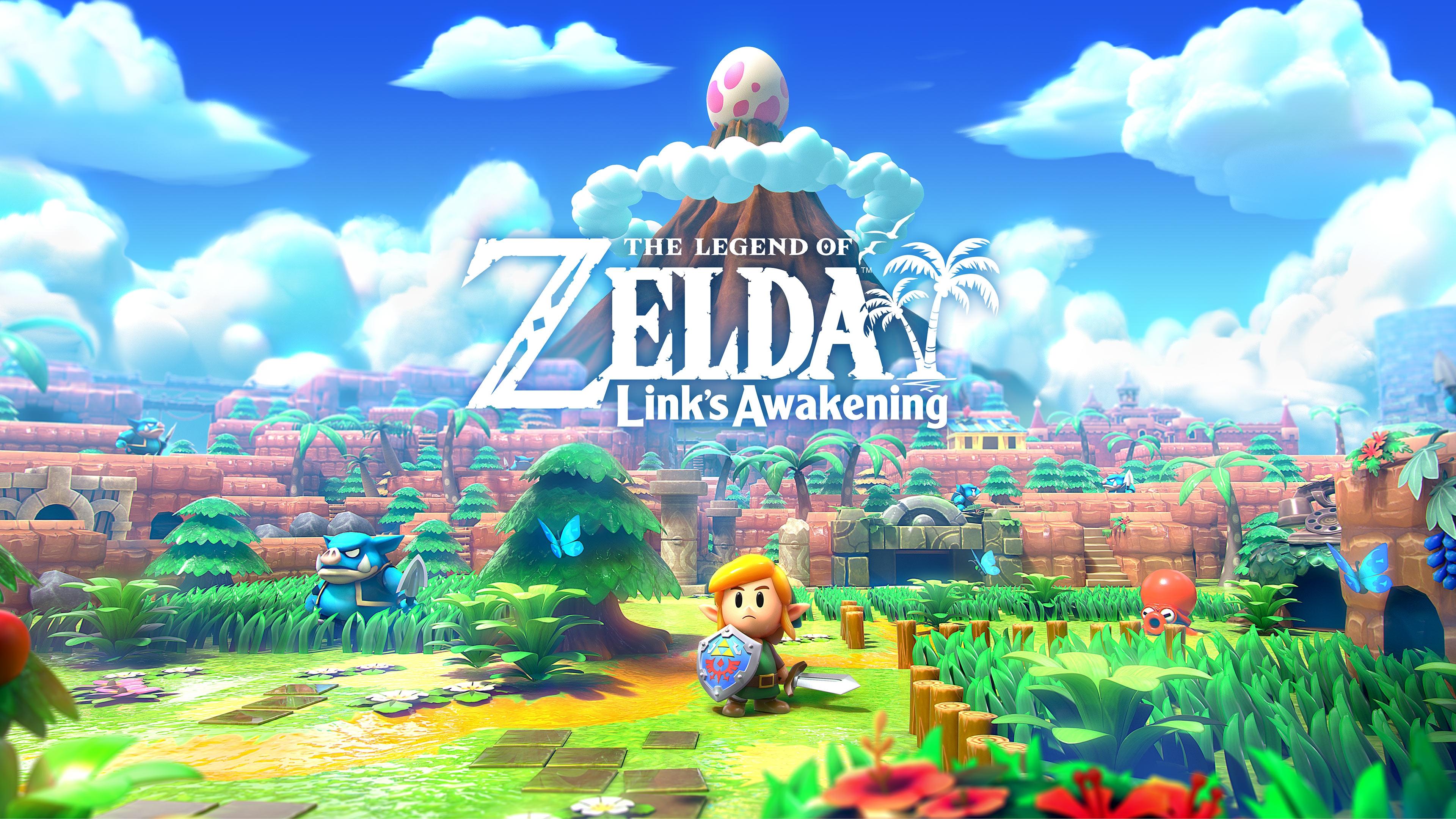 Игровой процесс и трейлер ремейка The Legend of Zelda: Link's Awakening — выход 20 сентября