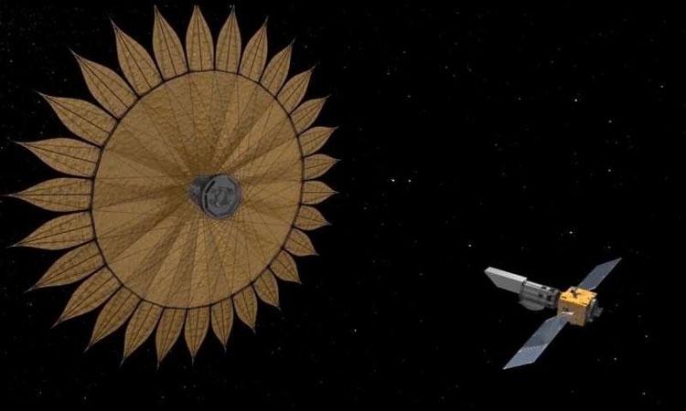 """Проект НАСА «Starshade» для поиска экзопланет обретает черты"""""""