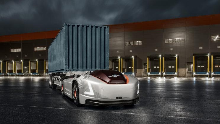 """Автономные электрогрузовики без кабины Volvo Vera будут перевозить контейнеры по дорогам общего пользования"""""""