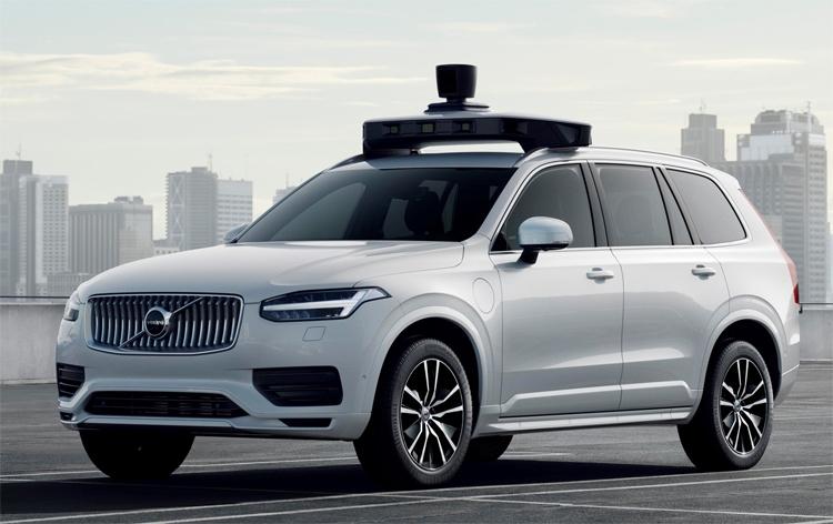 """Volvo Cars и Uber представили серийный автомобиль с автопилотом"""""""
