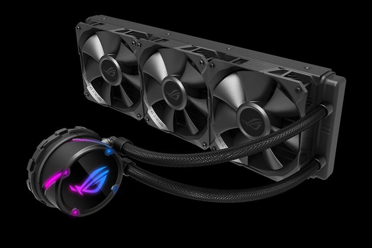 """ASUS ROG Strix LC 360: система жидкостного охлаждения с подсветкой Aura Sync RGB"""""""