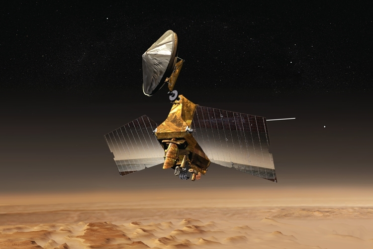 "Фото дня: эмблема «Звёздного флота» на поверхности Марса"""