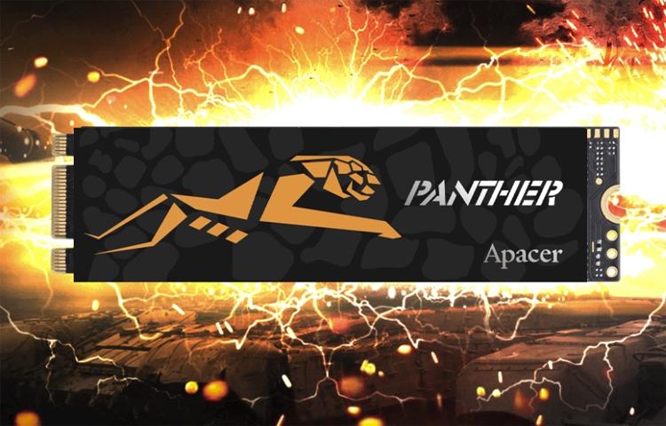 "Накопители Apacer AS2280P2 Pro M.2 PCIe SSD меняют цвет при нагреве"""