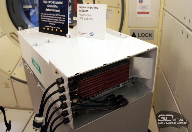 """Суперкомпьютер HPE Spaceborne проработал 615 дней на МКС"""""""