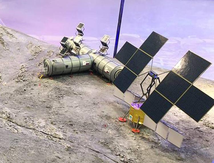 """Россия представила концепцию лунной базы"""""""