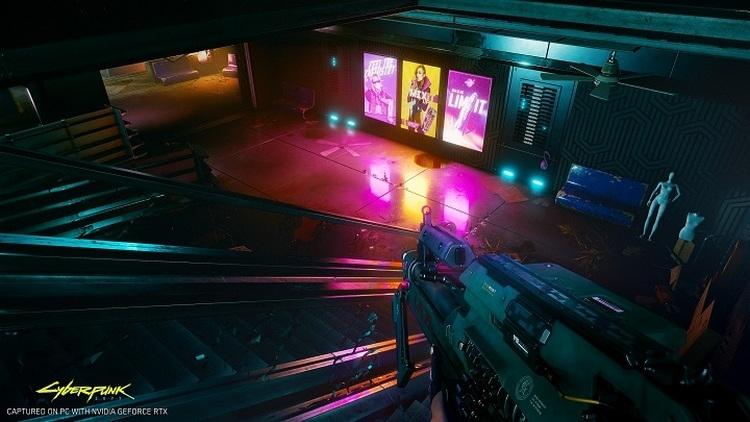 Демонстрация трассировки лучей в Cyberpunk 2077