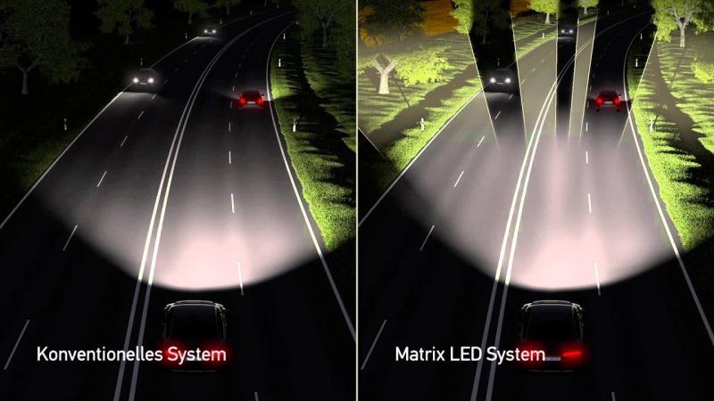 В автомобилях управляемым светом уже лет пять никого не удивишь