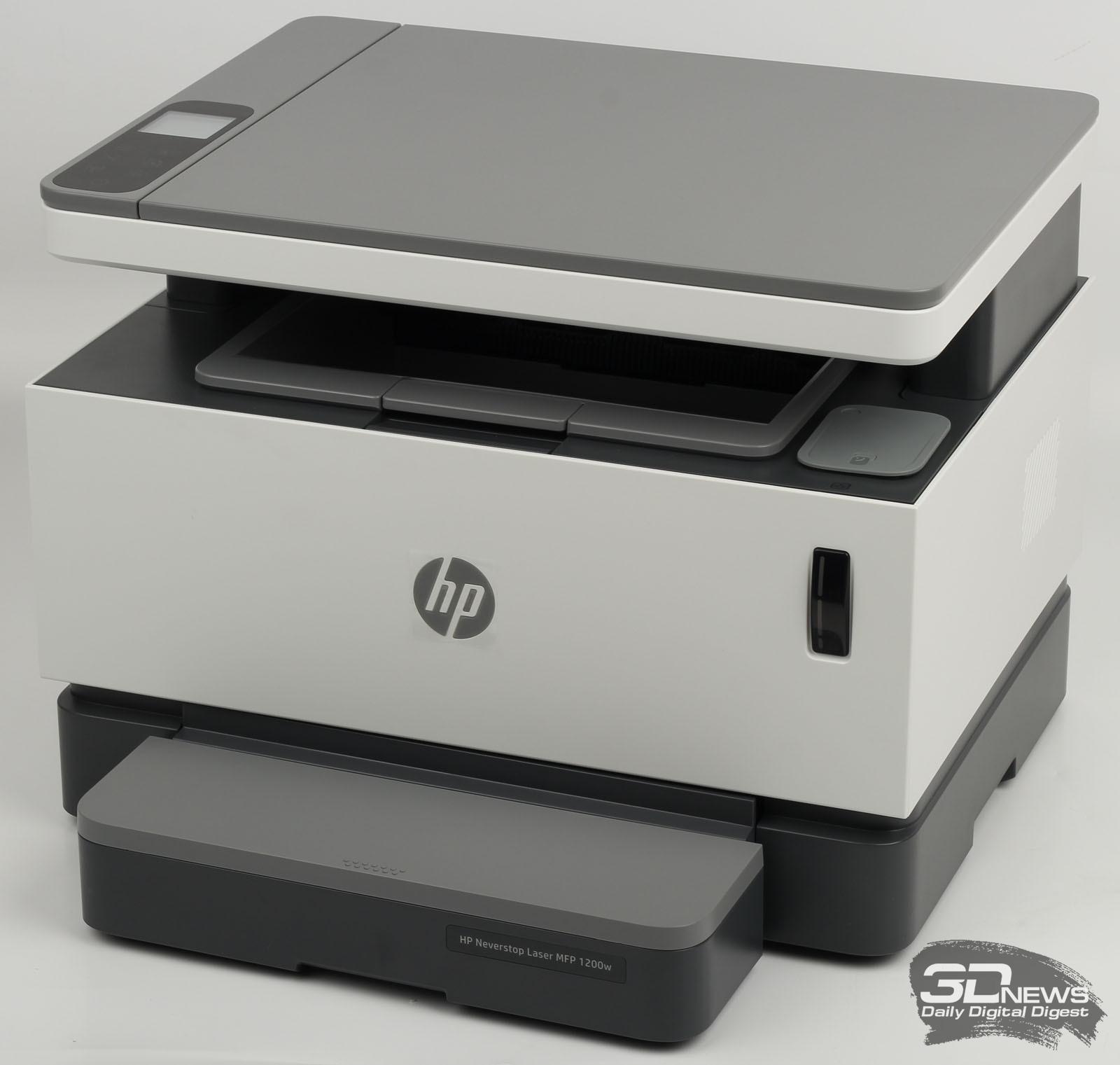 HP Neverstop Laser 1200w – печать без картриджа или НСПЧ для