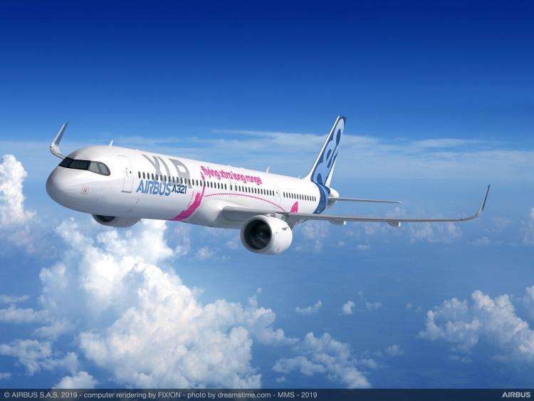 """Новый узкофюзеляжный самолёт Airbus получит самую большую дальность полёта"""""""
