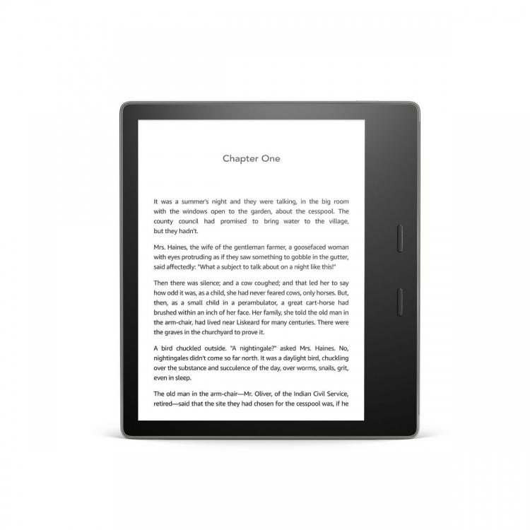 """Новый ридер Amazon Kindle Oasis позволяет регулировать цветовую температуру"""""""