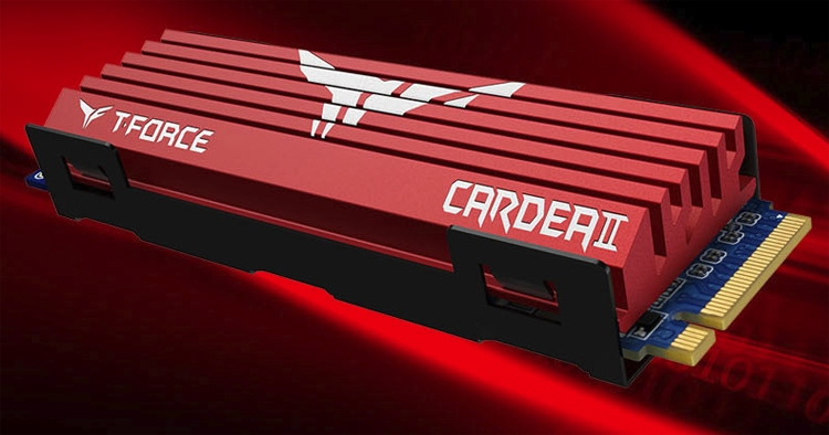 "SSD-накопители T-Force Cardea II для игровых систем имеют объём до 1 Тбайт"""