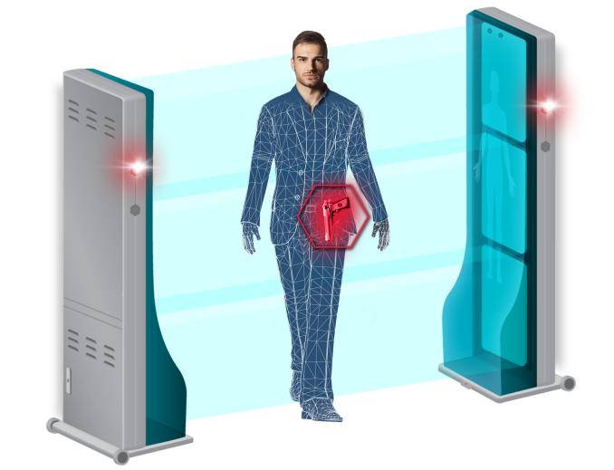 Hexwave поддерживает как явную, так и скрытую установку, а сканирование людей происходит буквально на лету, не требуя от них останавливаться или замедлять шаг