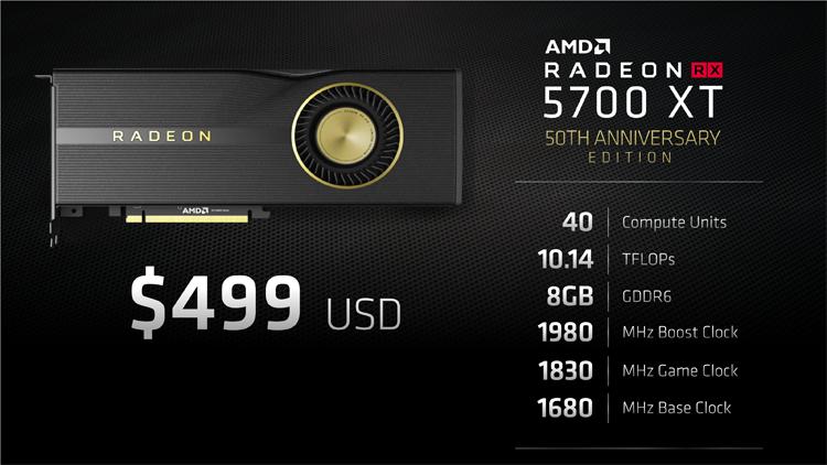 На презентации Лиза Су намекала, что AMD Radeon RX 5700 должен называться иначе