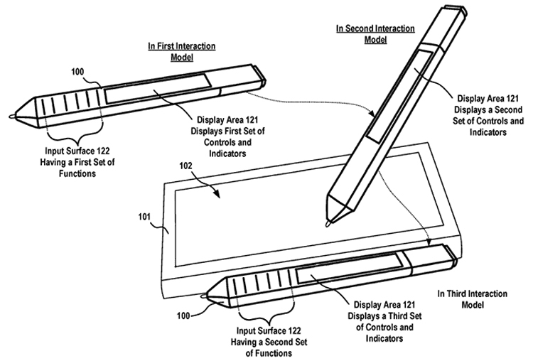 "Перо Microsoft Surface Pen может обзавестись дисплеем"""