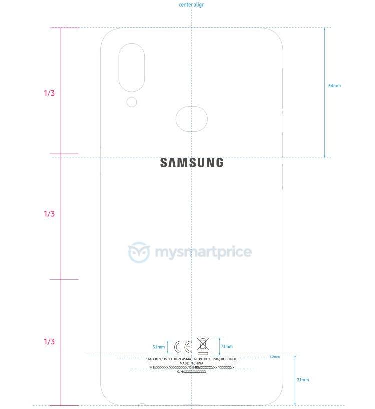 """Смартфон Samsung Galaxy A10s с двойной камерой показался на сайте регулятора"""""""