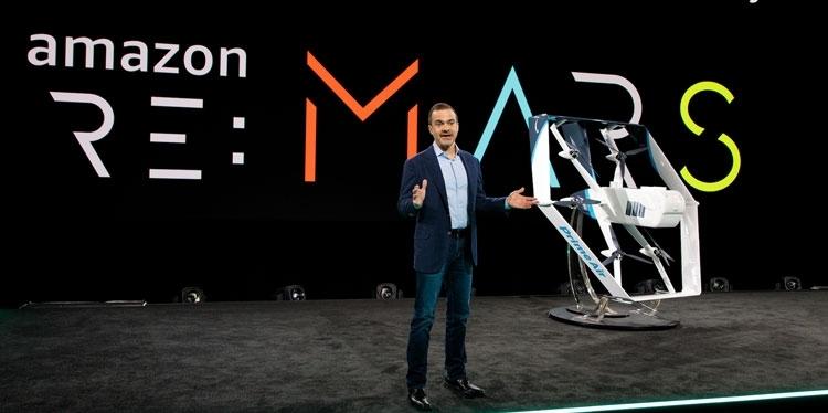 Новый дрон-доставщик компании Amazon