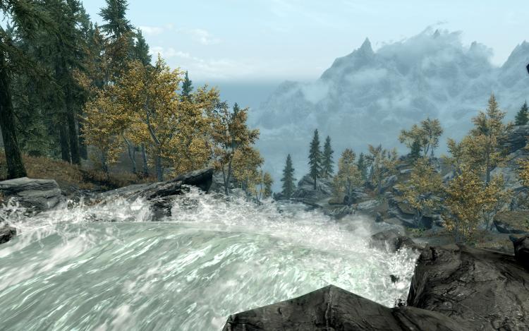 """Тяжёлая ноша: реалистичное плавание в The Elder Scrolls V: Skyrim с возможностью утонуть в броне"""""""
