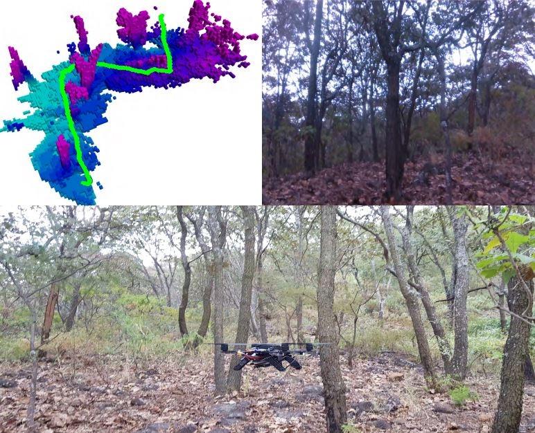 Исследователи из Intel Labs и мексиканского Центра перспективных исследований при Национальном политехническом институте при помощи машинного обучения, 3D-датчиков и модуля одометрии научили дронов ориентироваться в условиях с ограниченным пространством, таких как лес или складские помещения
