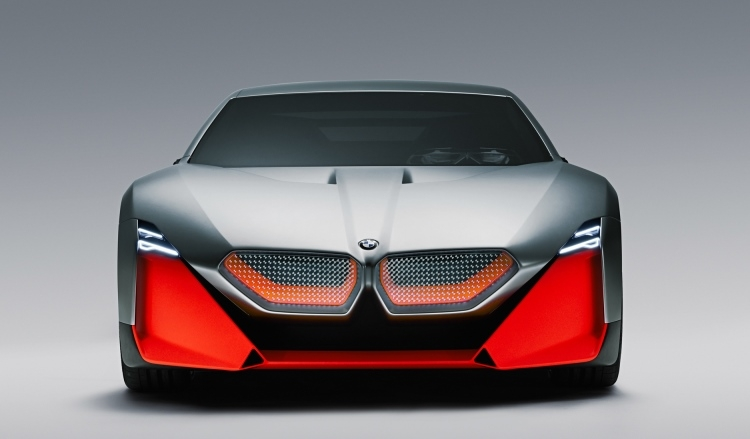 """BMW представила концептуальный автомобиль Vision M Next"""""""