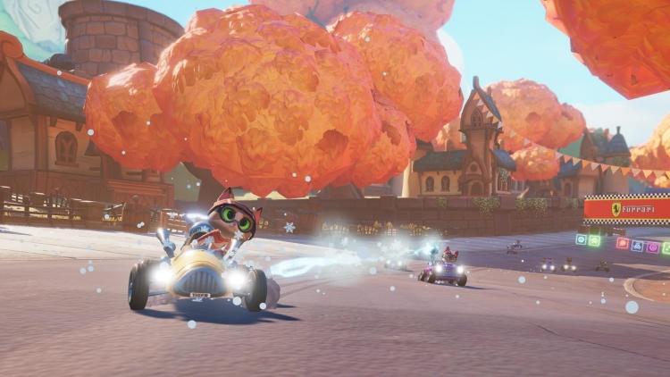 """Meow Motors, кошачьи аркадные гонки от российской студии, выйдут 2 августа на Xbox One"""""""