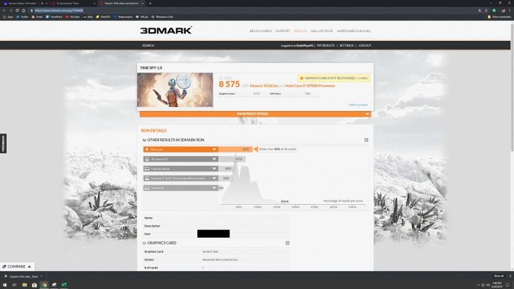 """Утечка: Radeon RX 5700 XT в 3DMark Time Spy показывает результат на уровне GeForce RTX 2070"""""""