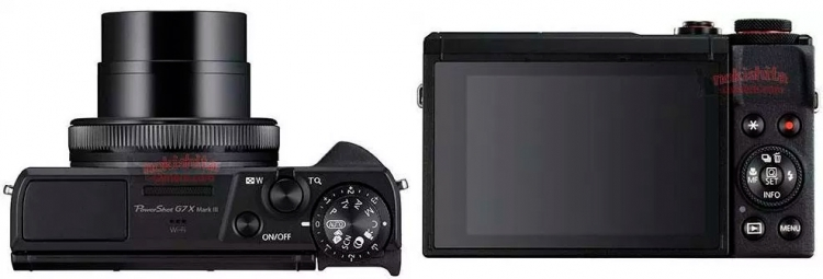"""Canon PowerShot G7X Mark III: характеристики и изображения новой компактной камеры незадолго до анонса"""""""