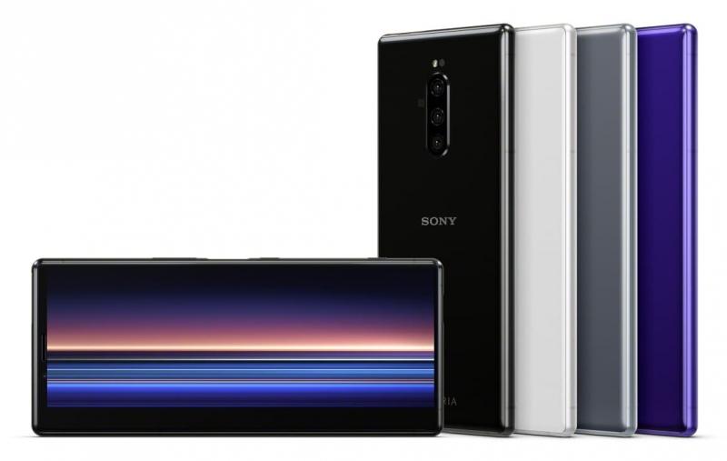 Sony Xperia 1, официальный потрет
