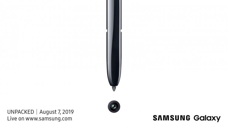 "Официально: фаблет Samsung Galaxy Note 10 будет представлен 7 августа"""