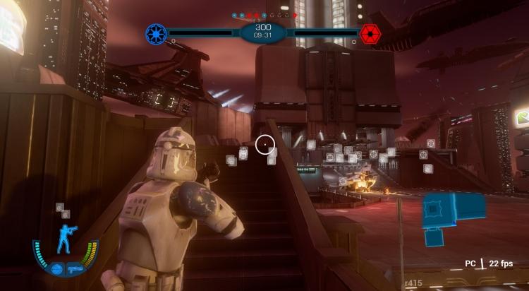 Игры по Звездным Войнам: Пре-альфа фанатского ремейка Star Wars Battlefront III с Дартом Вейдером, перестрелками и шагоходами