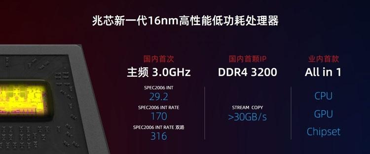 """Начались поставки x86-совместмых китайских 16-нм процессоров Zhaoxin KX-6000"""""""